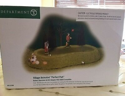 """Village Animated """"Perfect Putt""""  Department 56"""