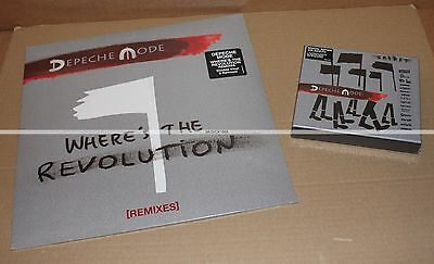 "Depeche Mode  Spirit Box Pin + Where's The Revolution  Vinyl 2X12"" - Neuf / Mint"