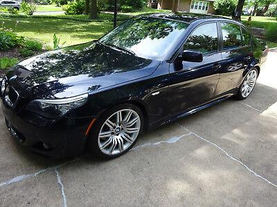 2008 BMW 5-Series black 2008 BMW 550i, Excellent condition, Msport Package and Msport Suspension!