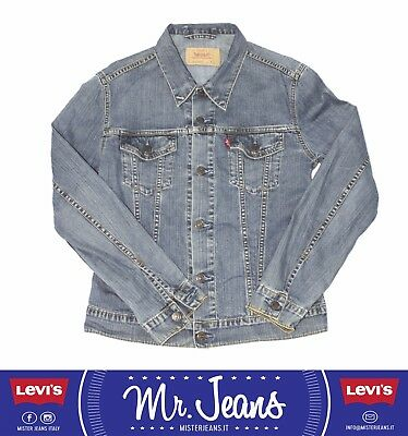 Levi's    jacket giacchetto L jeans vintage used usato levis second hand