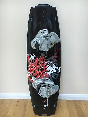 Liquid Force J Redmon Design Large Wakeboard With Bindings And Bag