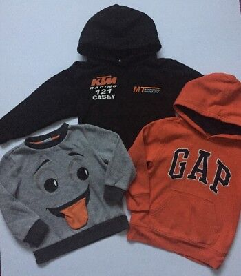 Boys Bundle Jumpers Age 3-4 Years Autumn Winter