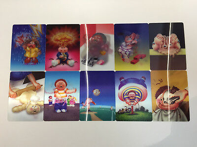 2012 USA Garbage Pail Kids Brand New Series 1 COMPLETE Loco Motion Set - BNS