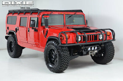 1997 AM General Hummer HUMMER H1-RUBBER DUCK-PREDATOR-40S-20S-WINCH-28K M HUMMER H1 WAGON-RUBBER DUCK-PREDATOR-TOYO-MILE MARKER-FUEL-LIFT-LOW MILES