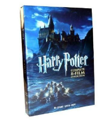 Harry Potter The Complete 1-8 Film Collection DVD 8-Disc Set Wholesale DVD