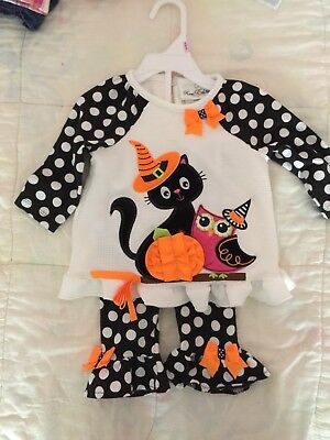Baby Girls Halloween Outfit 9mths