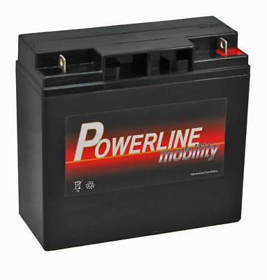 PL17-12 Powerline Mobility Battery 12V 17Ah