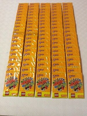 100 x SEALED packs Lego CREATE THE WORLD Trading Cards album book by Sainsbury's