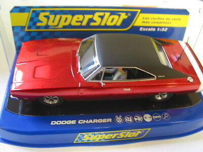 Scalextric  C3652 Dodge Charger R/t Candy Apple Red Dpr Bnib Superslot