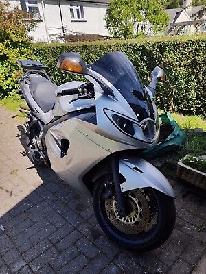 2005 Sliver Triumph Sprint ST 1050, With Full Triumph Luggage