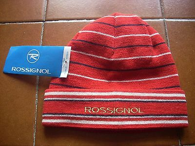 Deadstock Papalina Berretto Vintage Original Rossignol Ski Winter Snow Wool Anni