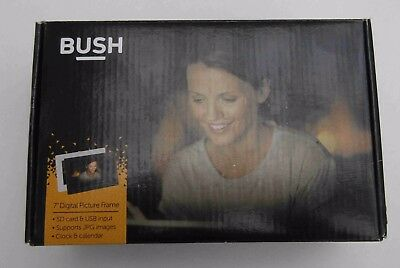 "Bush 7"" Digital Photo Frame DPF710 - Black (Unwanted Gift - Never Used)"
