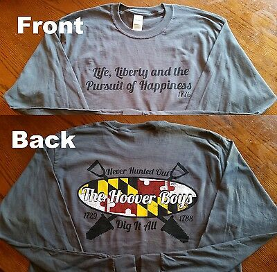 The Hoover Boys Metal Detecting LONG Sleeve T-Shirts Official YouTube