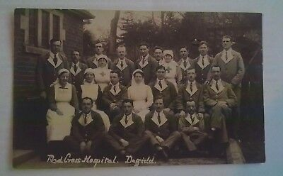Duffield Scarce Superb RP the Red Cross Hospital Wounded and Nursing Staff 1917
