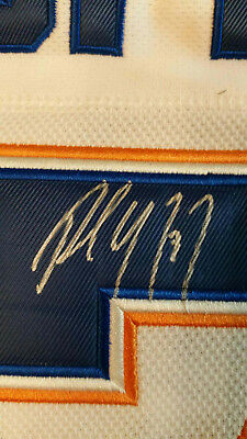 PAUL COFFEY Signed Edmonton Oilers Vintage Game Ready Pro Jersey RARE HHOF