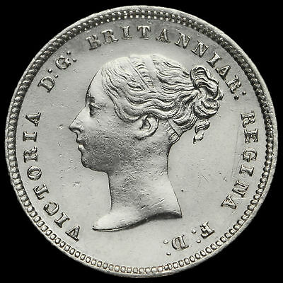 1874 Queen Victoria Silver Maundy Fourpence
