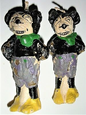 RARE 1920s GERMANY antique MICKEY MOUSE candles 2 in original box