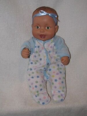 """12"""" Rubber Water Baby Doll By Lauer Toys 1990"""