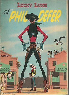 Lucky Luke Et Phil Defer Edition Originale Morris