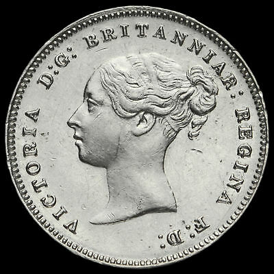 1886 Queen Victoria Silver Maundy Fourpence