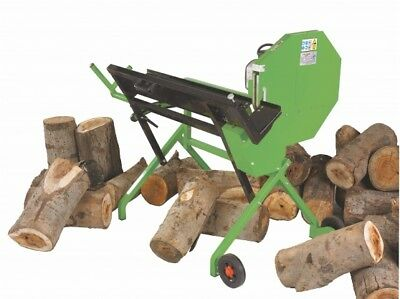The Handy THLS-6-Plus Electric Log Saw / Cutter Bench