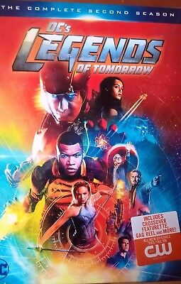 DCs Legends of Tomorrow: The Complete Second Season (DVD, 2017). CW network.