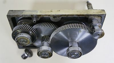 """Rockwell Invicta 13"""" Planer #939 Gear Box Assembly"""