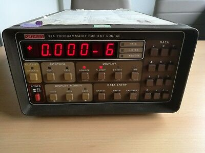 Keithley 224 programmierbare Stromquelle, programable current source