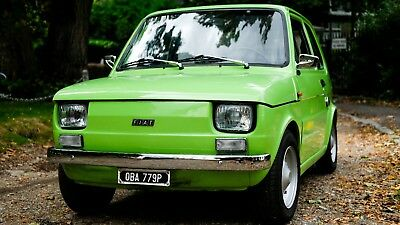FIAT 126 - Beautiful! Recent £3k recommission, exc. condition. Very rare car!