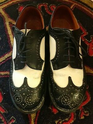 Gripfast Leather Brogues 7 like DMs Dr Martens