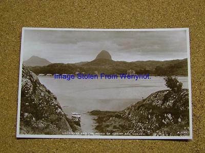 1900s Photo Postcard Lochinver & Peaks of Canisp & Suilven,Scotland.