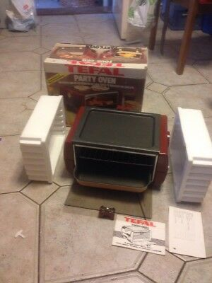 Vintage Tefal Party Oven Mint In Box Never Used