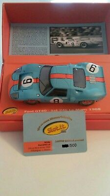 Ford GT 40 Slot.it Limited Edition Mexico SOLO 500 unidades