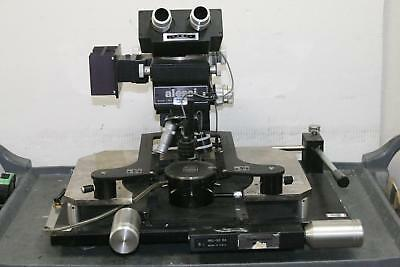 ALESSI INDUSTRIES REL-32 Probe Station W/ B&L Microscope with 2 Objectives