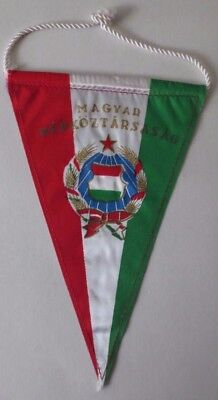 Vintage Hungarian Volleyball Association Pennant, Hungary Sports Collectable