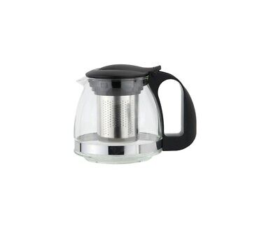 Heat Resistant Glass Infusion Teapot Tea Pot With Stainless Steel Infuser 600ml