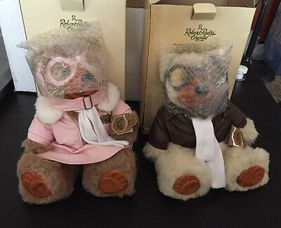 Raikes Bears Set of 2 Amelia and Lindy Jr. in Box New!