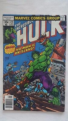 Marvel The Incredible Hulk #219 220 Lot of 2