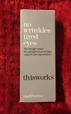 NEW This Works No Wrinkles Tired Eyes 15ml