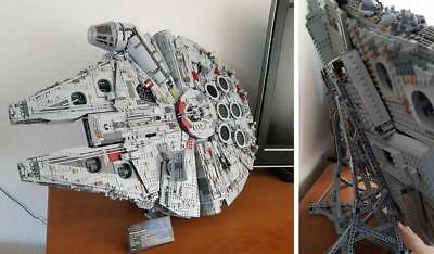 INSTRUCTIONS to Build a Vertical Stand for LEGO 75192 UCS Millennium Falcon