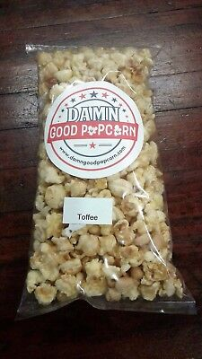 Gourmet Butter Toffee with Peanuts Popcorn by Damn Good Popcorn