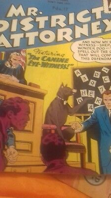old comic  Mr district  attorney  no 17