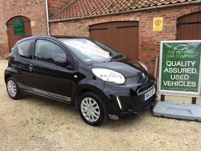 13  Citroen C1 1.0i 68  VTR, Very low mileage,  ONE LADY OWNER +