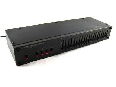 AudioControl Octave 3Hz to 100kHz D-10 10-Band Stereo Equalizer Subsonic Filter