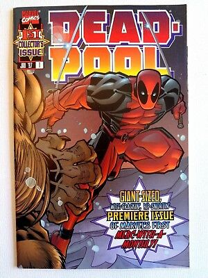 Dead-Pool - Vol.1.no.1 Jan 1997 Collector's Issue!  Marvel Comics