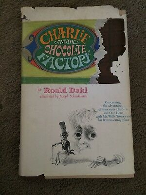 Vintage Charlie and the Chocolate Factory Roald Dahl 1964