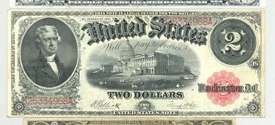 $2 Series 1917 Fr. 60 United States Note very nice, high grade, no reserve