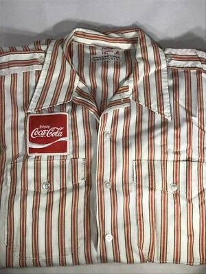 Vintage Coca Cola Delivery/Salesman Shirt - Unitog - Patch