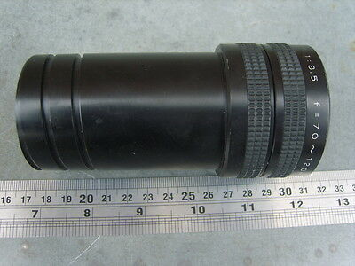 Elmo Zoom 70 - 120 mm Projection Lens Projector Lens