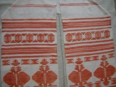 Vtg antique Hand Woven TOWEL Ukrainian RUSHNYK KROLEVETS Great Condition